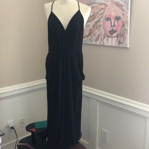BCBGENERATION black knit maxi dress size Med NWT
